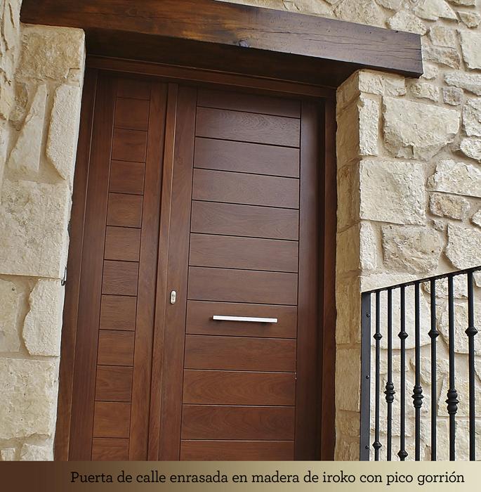 Martin calvo e hijo carpinter a y ebanister a puertas - Puertas de exterior ...